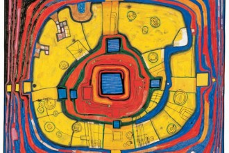 Hundertwasser 931 THE SMALL WAY, 1991 © 2014 Namida AG, Glarus, Switzerland