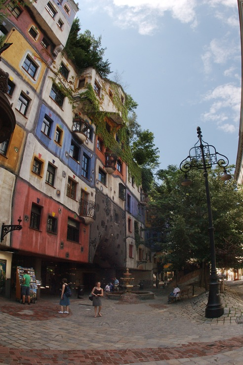 Hundertwasser House Photo Credit: © GerhardDeutsch