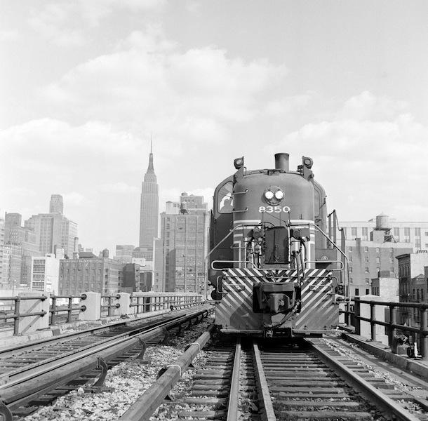 Rail yards